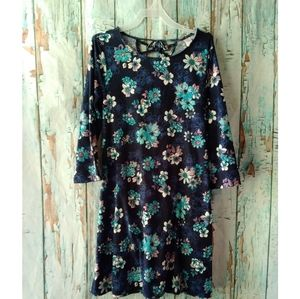 🎈[Justice] Girls Floral Dress Size 12/14
